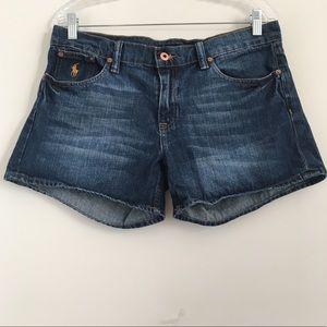 Ralph Lauren Sport Jean Shorts sz 8